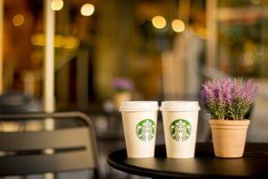 スタバコーヒー画像
