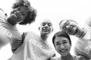 ボランティアの喜び画像