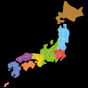 日本地図画像