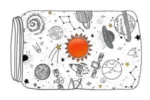 宇宙や星のイメージイラスト