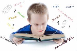 数学大好きな男の子の画像