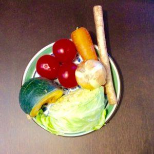 万能野菜スープの材料の野菜