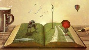 言葉の世界をイメージしたイラスト